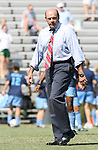 23 September 2007: UNC assistant coach Bill Palladino. The University of North Carolina Tar Heels defeated the University of San Francisco Dons 2-0 at Koskinen Stadium in Durham, North Carolina in an NCAA Division I Women's Soccer game, and part of the annual Duke Adidas Classic tournament.