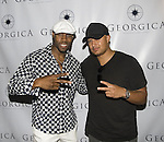 Actor Valence Thomas and Creative Director of STALYON Nathan Isaac attend Angel Wings Foundation Dinner & Silent Auction Hosted by Founder Jessica White at GEORGICA RESTAURANT & LOUNGE, Wainscott-East Hampton, 5/30/10
