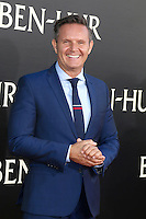"HOLLYWOOD, CA - AUGUST 16: Mark Burnett at the LA Premiere of the Paramount Pictures and Metro-Goldwyn-Mayer Pictures title ""Ben-Hur"", at the TCL Chinese Theatre IMAX on August 16, 2016 in Hollywood, California. Credit: David Edwards/MediaPunch"