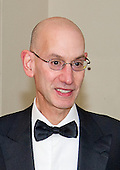 Adam Silver, Commissioner, National Basketball Association, arrives for the State Dinner in honor of Prime Minister Trudeau and Mrs. Sophie Gr&eacute;goire Trudeau of Canada at the White House in Washington, DC on Thursday, March 10, 2016.<br /> Credit: Ron Sachs / Pool via CNP