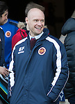 St Johnstone v Stenhousemuir&hellip;21.01.17  McDiarmid Park  Scottish Cup<br />Stenhousemuir manager Brown Fergsuon<br />Picture by Graeme Hart.<br />Copyright Perthshire Picture Agency<br />Tel: 01738 623350  Mobile: 07990 594431