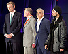 Mayor of London and London Assembly results announcement at City Hall, London, Great Britain <br /> 6th May 2016 <br /> <br /> <br /> <br /> Zac Goldsmith - Conservative<br /> <br /> Lee Harris - CISTA<br /> <br /> Sadiq Khan - Labour <br /> <br /> Ankit Love - One Love Party<br /> <br /> <br /> The winner was Sadiq Khan who is appointed the new mayor of London <br /> <br /> <br /> <br /> Photograph by Elliott Franks <br /> Image licensed to Elliott Franks Photography Services