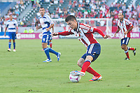 CARSON, California - October 7, 2012: FC Dallas and CD Chivas USA played to a 1-1 draw during a Major League Soccer (MLS) game at Home Depot Center stadium.
