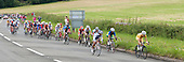 Olympics 2012.  Women's cycle road race passes along the Shere bypass, the A25, on it's way to Box Hill and then back to the finish in London.