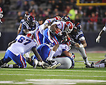 Ole Miss vs. Louisiana Tech's Lennon Creer (5) in Oxford, Miss. on Saturday, November 12, 2011.