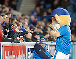 Rangers fans and Broxi