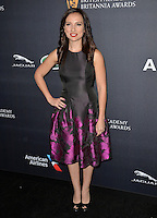 BEVERLY HILLS, CA. October 28, 2016: Leila Birch at the 2016 AMD British Academy Britannia Awards at the Beverly Hilton Hotel.<br /> Picture: Paul Smith/Featureflash/SilverHub 0208 004 5359/ 07711 972644 Editors@silverhubmedia.com
