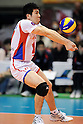 Masahiro Hashiba (FC Tokyo), MARCH 5, 2011 - Volleyball : 2010/11 Men's V.Premier League match between F.C.Tokyo 0-3 Sakai Blazers at Tokyo Metropolitan Gymnasium in Tokyo, Japan. (Photo by AZUL/AFLO).