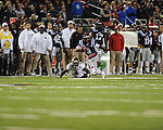 Ole Miss running back Jeff Scott (3) vs. Texas A&M at Vaught-Hemingway Stadium in Oxford, Miss. on Saturday, October 6, 2012. Texas A&M rallied from a 27-17 4th quarter deficit to win 30-27.