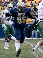 Pittsburgh defensive end Mick Williams, November 24, 2007