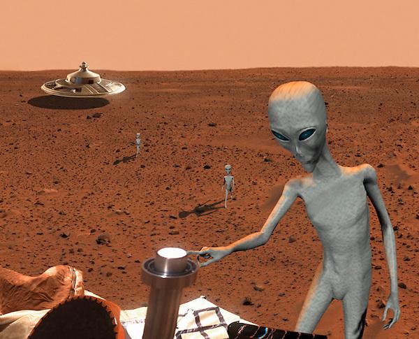Des Anonymous affirment que la NASA va annoncer la