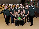 12-10-15, Huron High School girl's bowling team