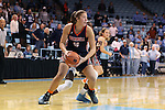 20 November 2016: Bucknell's Kaitlyn Stagus. The University of North Carolina Tar Heels hosted the Bucknell University Bisons at Carmichael Arena in Chapel Hill, North Carolina in a 2016-17 NCAA Women's Basketball game. UNC won the game 65-50.