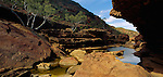 Murchison River in Kalbarri National Park. Western Australia. Australia.