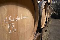 barrel aging cellar clos des langres ardhuy nuits-st-georges cote de nuits burgundy france
