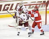 Dru Burns (BC - 7), Molly Schaus (BC - 30), Jillian Kirchner (BU - 18) - The visiting Boston University Terriers defeated the Boston College Eagles 1-0 on Sunday, November 21, 2010, at Conte Forum in Chestnut Hill, Massachusetts.