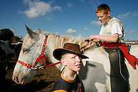 Every October, Ballinasloe is host to the ancient October Fair, one of the oldest horse fairs in Europe, bathed in history it dates back to the 1700s. Today the ever popular fair is still held, along with a festival that attracts up to 100,000 visitors from all over the world.<br /> Pictures James Horan
