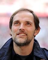 FUSSBALL   1. BUNDESLIGA  SAISON 2011/2012   31. Spieltag FC Bayern Muenchen - FSV Mainz 05       14.04.2012 Trainer Thomas Tuchel (1. FSV Mainz 05)