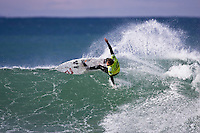 JEFFREYS BAY (Thursday, July 10 2008). The fifth event on the 2008 men's ASP World Championship Tour, the Billabong Pro, got under way today in icy conditions at the Supertubes break, Jeffreys Bay, South Africa. Photo: joliphotos.com