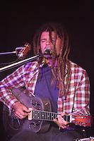 Ash Grunwald performing at The Corner Hotel, Melbourne, 9 June 2012