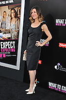 Actress Finola Hughes arrives at the premiere of 'What To Expect When You're Expecting' held at Grauman's Chinese Theatre in Hollywood.