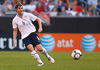 22 MAY 2010:  USA's Amy LePeilbet #6 during the International Friendly soccer match between Germany WNT vs USA WNT at Cleveland Browns Stadium in Cleveland, Ohio. USA defeated Germany 4-0 on May 22, 2010.