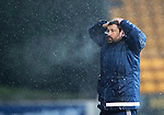 St Johnstone v Hamilton Accies&hellip;28.01.17     SPFL    McDiarmid Park<br />A bad day for accies boss Martin Canning<br />Picture by Graeme Hart.<br />Copyright Perthshire Picture Agency<br />Tel: 01738 623350  Mobile: 07990 594431