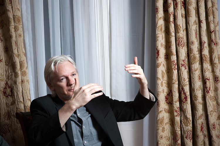 Exclusive: Julian Assange
