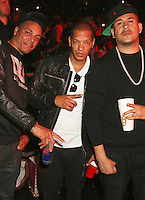 NEWARK, NJ - SEPTEMBER 25: Rich Dollaz, Peter gunz and Cicso Rosado pictured at the Bad Boy Family Reunion concert at The Prudential Center in Newark, New Jersey on September 25, 2016. Credit: Walik Goshorn/MediaPunch
