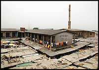 Never noticed this one before. A functioning market and minarat on the otherside of the highway from Ajelogo in Lagos, Nigeria. This is interesting before and after.