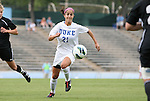 24 August 2012: Duke's Gilda Doria. The Duke University Blue Devils defeated the University of Montreal Caribins 4-1 at Fetzer Field in Chapel Hill, North Carolina in an international women's collegiate friendly game.