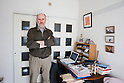Mar. 16, 2011 - Tokyo, Japan - Philip White from the Citizens' Nuclear Information Center, speaks out in his home office concerning the recent earthquake and tsunami devastations which triggered dangerous nuclear explosions at the quake-hit Daiichi nuclear power plant in Fukushima.