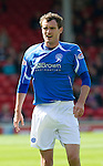 Aberdeen v St Johnstone... 23.07.11   SPL Week 1.David Robertson.Picture by Graeme Hart..Copyright Perthshire Picture Agency.Tel: 01738 623350  Mobile: 07990 594431