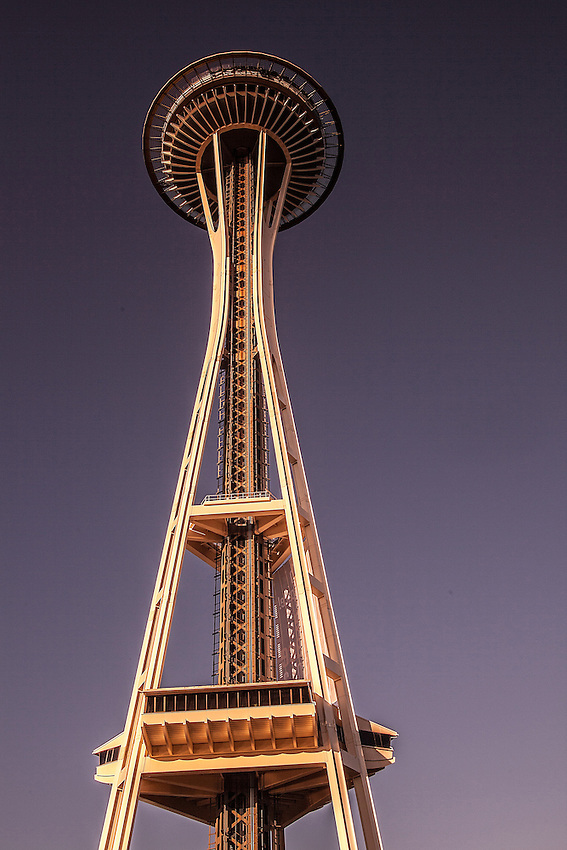 The Sunset Space Needle