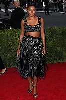 """NEW YORK CITY, NY, USA - MAY 05: Gabrielle Union at the """"Charles James: Beyond Fashion"""" Costume Institute Gala held at the Metropolitan Museum of Art on May 5, 2014 in New York City, New York, United States. (Photo by Xavier Collin/Celebrity Monitor)"""