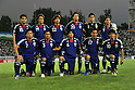 Japan team group line-up (JPN), SEPTEMBER 6, 2011 - Football / Soccer : Japan team group (L-R) Yasuyuki Konno, Tadanari Lee, Yuki Abe, Maya Yoshida, Eiji Kawashima, Shinji Okazaki, front; Yasuhito Endo, Yuichi Komano, Atsuto Uchida, Makoto Hasebe, Shinji Kagawa before the FIFA World Cup Brazil 2014 Asian Qualifier Third Round Group C match between Uzbekistan 1-1 Japan at Pakhtakor Markaziy Stadium in Tashkent, Uzbekistan. (Photo by AFLO)