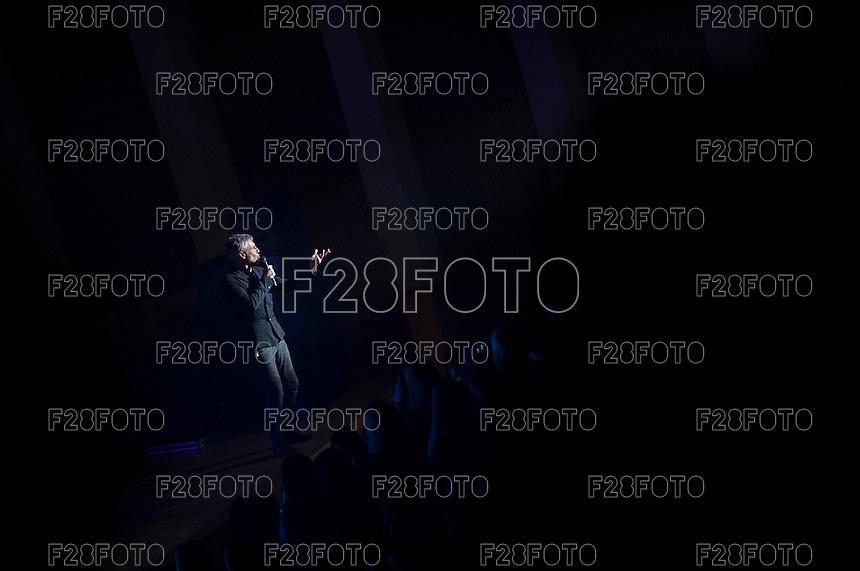 Sergio Dalma en el Palau de les Arts Reina Sofia en Valencia el 14-2-2015