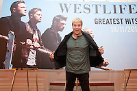 NO REPRO FEE. 4/10/2011. Westlife Announce their final show. Pictured at the Four Seasons Hotel Dublin Kian Egan from Westlife - Shane Mark, Nicki and Kian announcing their grand finale after 14 years together at  Croke Park Dublin  on Saturday 23 rd June 2012 with special guests the Wanted. Tickets on sale with Ticketmaster at 8am on Friday 11 November at €59.50. For more information contact Tara McCormack-tara@mcd.ie/012841741