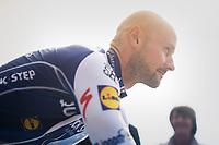 Tom Boonen (BEL/Quick-Step Floors) arriving himself at his farewell race/criterium 'Tom Says Thanks!' in Mol/Belgium