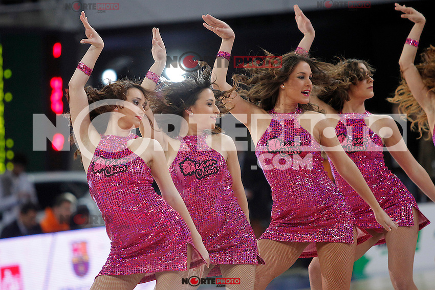 ACB's Cheerleaders during Spanish Basketball King's Cup match.February 07,2013. (ALTERPHOTOS/Acero) /NortePhoto