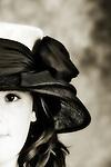 pretty girl in hat