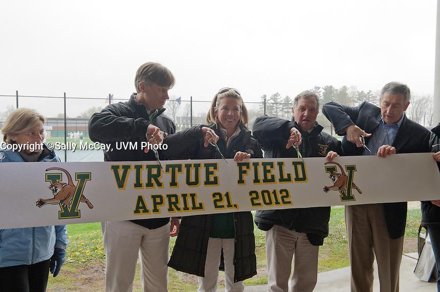 UVM Virtue Field Dedication Ceremony