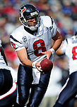 1 November 2009: Houston Texans' quarterback Matt Schaub in action against the Buffalo Bills at Ralph Wilson Stadium in Orchard Park, New York, United States of America. The Texans defeated the Bills 31-10. Mandatory Credit: Ed Wolfstein Photo