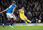 Rangers v St Johnstone&hellip;26.10.16..  Ibrox   SPFL<br />Brian Easton shoots over the bar<br />Picture by Graeme Hart.<br />Copyright Perthshire Picture Agency<br />Tel: 01738 623350  Mobile: 07990 594431