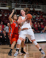 STANFORD, CA - December 15, 2012: Stanford Cardinal's Tess Picknell during Stanford's 78-43 victory over Pacific at Maples Pavilion in Stanford, California.