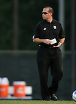 07 September 2007: Texas A&M assistant coach Phil Stephenson. The University of North Carolina Tar Heels defeated the Texas A&M University Aggies 2-1 at Fetzer Field in Chapel Hill, North Carolina in an NCAA Division I Women's Soccer game, and part of the annual Nike Carolina Classic tournament.