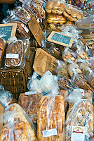 Nuts, Bread, Snacks, Food Display Snack Manufacturers, Americana Brand; Calif. California CA; Glendale; shopping