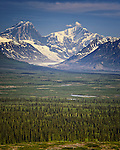 Scenes Along the Denali Highway