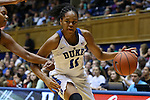 29 December 2015: Duke's Azura Stevens. The Duke University Blue Devils hosted the Western Carolina University Catamounts at Cameron Indoor Stadium in Durham, North Carolina in a 2015-16 NCAA Division I Women's Basketball game.