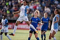 Seattle, WA - Sunday, May 21, 2017: Marta Vieira Da Silva during a regular season National Women's Soccer League (NWSL) match between the Seattle Reign FC and the Orlando Pride at Memorial Stadium.